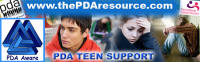 PDA - support for caregivers of teens with PDA