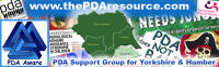 PDA Support Group for Yorkshire & Humber
